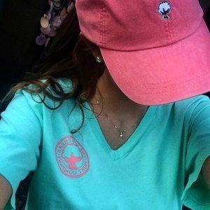 Southern shirt company hat pink coral